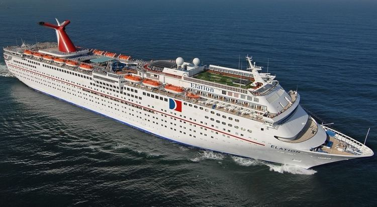 Carnival Elation Carnival Elation Itinerary Schedule Current Position CruiseMapper