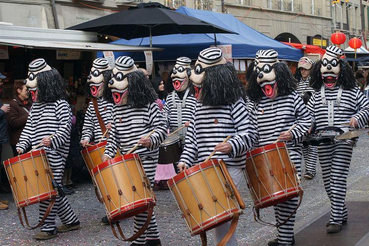 Carnival in Bern