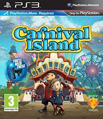 Carnival Island Carnival Island Move Required PS3 Amazoncouk PC amp Video Games
