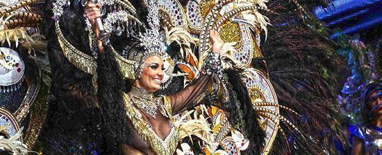 Carnival of Santa Cruz de Tenerife Popular festivities in Tenerife Spain Carnival festivities in