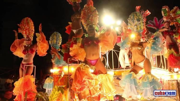Carnival of Santiago de Cuba Cuban Hot Dancing Santiago de Cuba Carnivals 040v01 YouTube