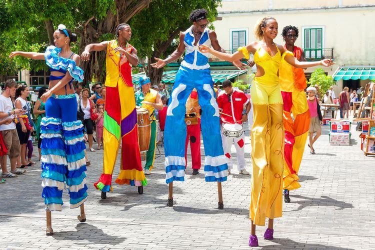 Carnival of Santiago de Cuba Carnival in Santiago de Cuba in the month of July