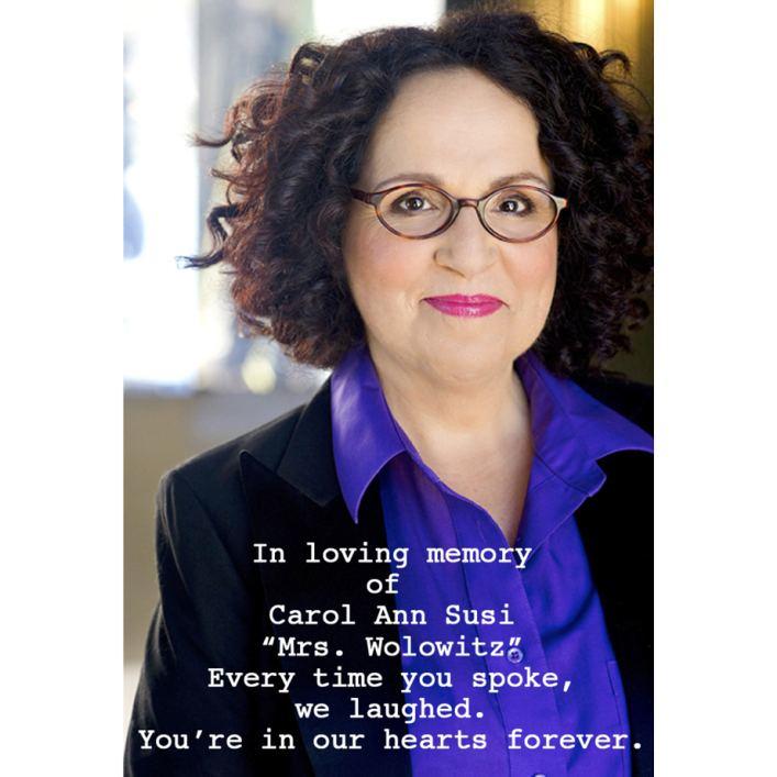 Carol Ann Susi The Big Bang Theory39 Pays Tribute To Carol Ann Susi Deadline