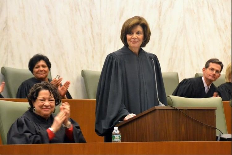 Carol Bagley Amon US Supreme Court Justice celebrates Brooklyn portrait unveiling