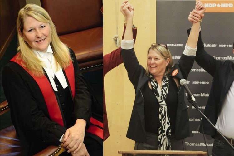 Carol Baird Ellan NDP chooses exjudge for tight federal race in Burnaby National