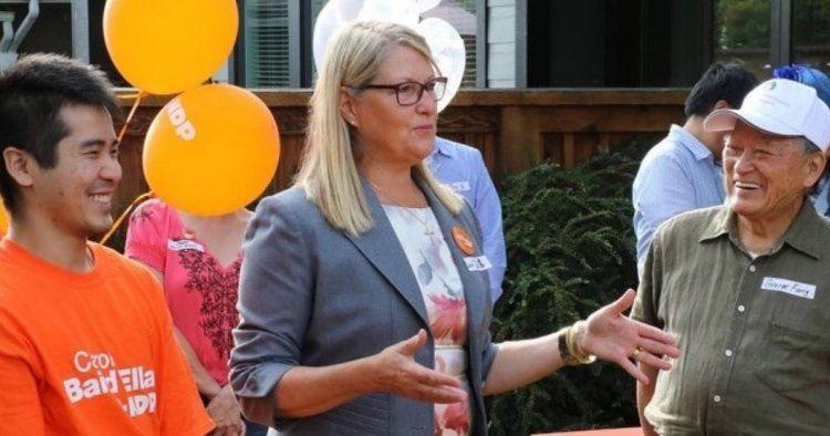 Carol Baird Ellan Carol Baird Ellan NDP Star Candidate Attacked By Tories