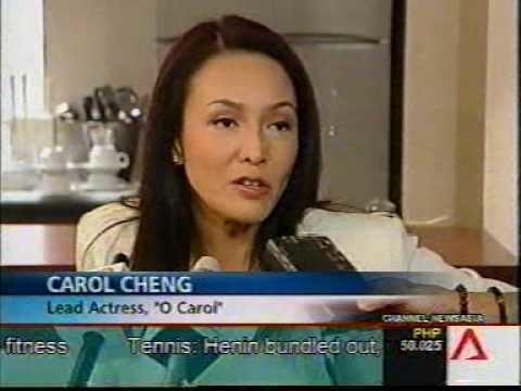 Carol Cheng HongKong Actress CAROL CHENG stars in Singapore39s Channel