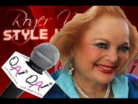 Carol Connors (actress) CAROL CONNORS 2 time OSCAR NOMINATED OSCARS Interview at Roger