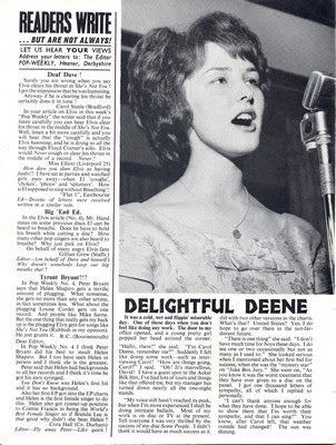Carol Deene Music Archive Carol Deene Johnny Get Angry