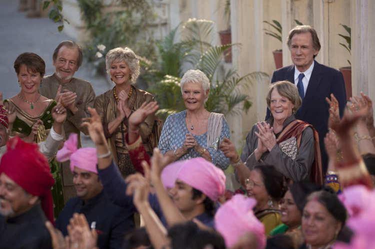 Carol I (film) movie scenes 06 second best exotic marigold hotel w529 h352 2x jpg