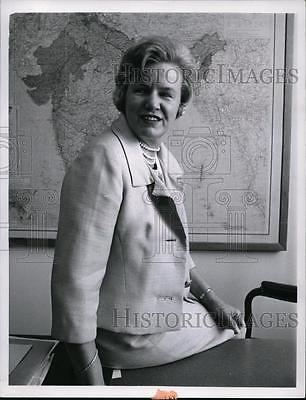 Carol Laise 1966 Press Photo Miss Carol Laise A Veteran With American Foreign