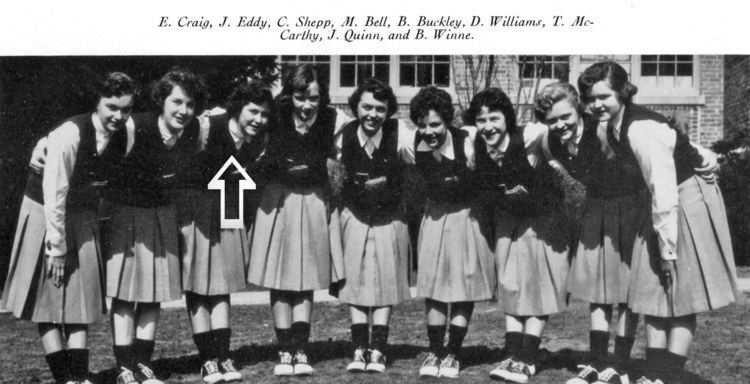 Carol McCain Carol Shepp McCain and Her Famous Ex LansdowneAldan High School