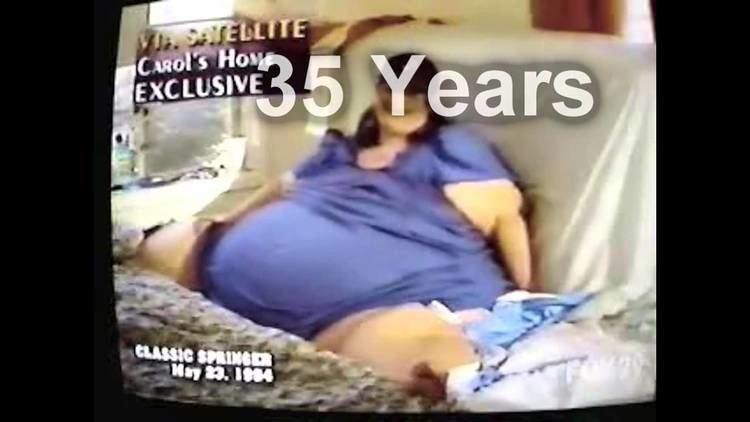 Carol Yager Carol Yager Heaviest Woman Ever YouTube