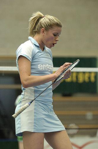 Carola Bott Kings Kisinen Carola Bott Female Badminton Player