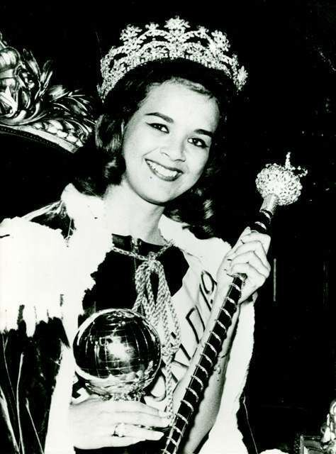Carole Crawford Miss World 1963 Jamaica Carole Crawford Miss World Pagent