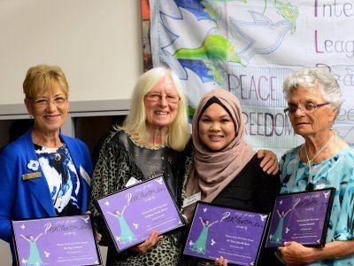 Carole Ferrier Professor Carole Ferrier honoured with Peace Award School of