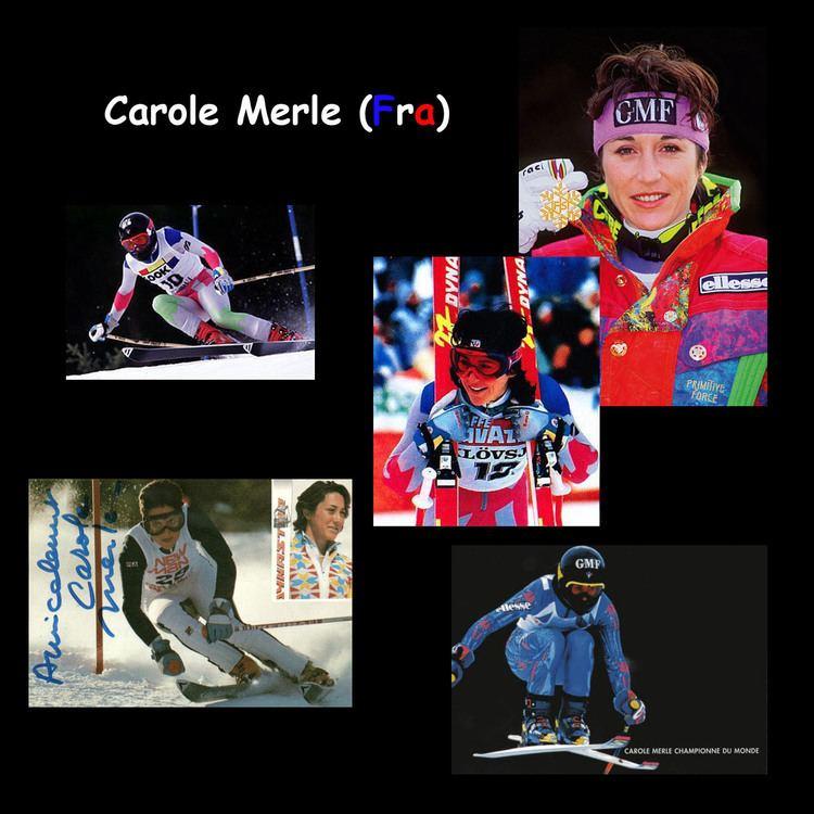 Carole Merle Actuskiracing L39actu du ski alpin Lgende du ski