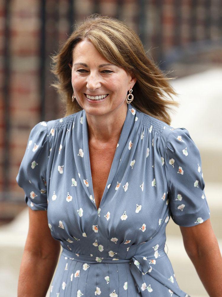 Carole Middleton Carole Middleton The Royals Gush Over Little quotGeorgie