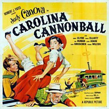 Carolina Cannonball CAROLINA CANNONBALL 1955 starring Judy Canova with Emil Sitka