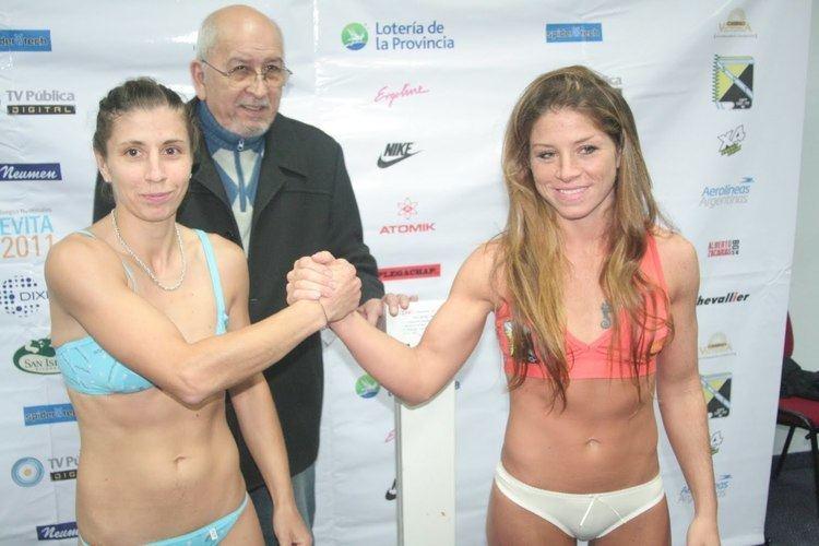 Carolina Duer Boxeo La bonita Carolina Duer retuvo el cinturon Taringa