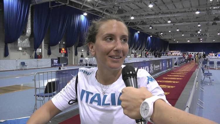 Carolina Erba Mondiali BUDAPEST2013 Fioretto femminile Intervista