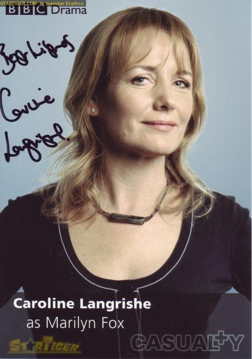 Caroline Langrishe Caroline Langrishe autograph collection entry at StarTiger