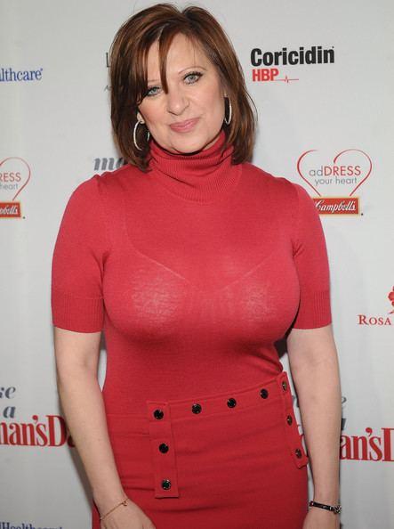 Caroline Manzo Caroline Manzo Photos 2012 quotWoman39s Dayquot Red Dress