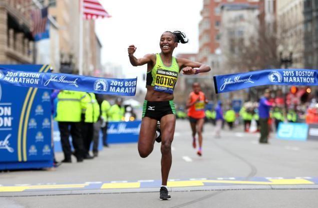 Caroline Rotich Desisa wins second Boston Marathon Rotich first for women