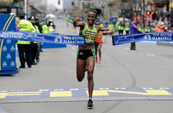 Caroline Rotich This Time Lelisa Desisa Wins Boston Marathon for Himself