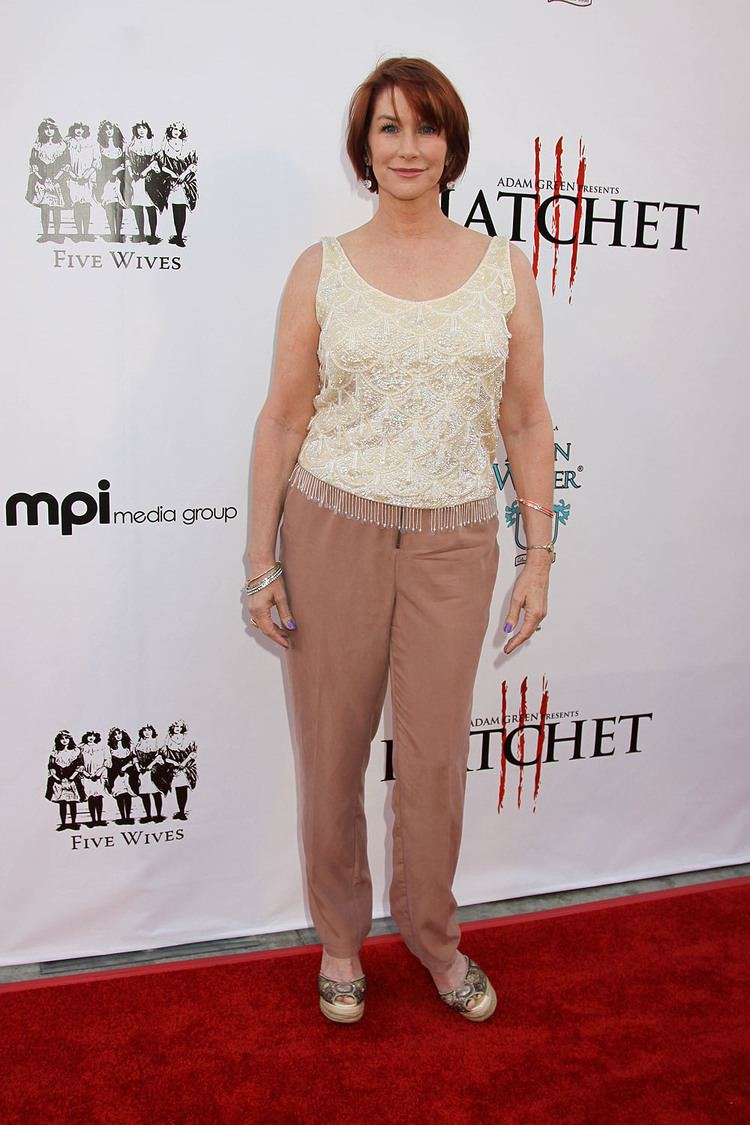 Caroline Williams Caroline Williams at the Red Carpet Premiere of HATCHET