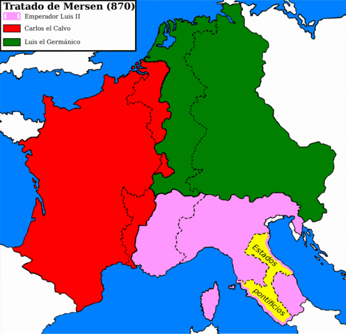 Carolingian Empire The Rise and Fall of the Carolingian Empire timeline Timetoast