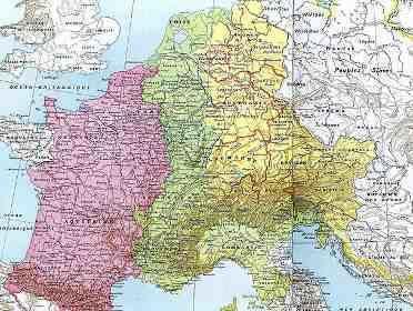 Carolingian Empire wwwheevecomimagescarolingianempiremapjpg