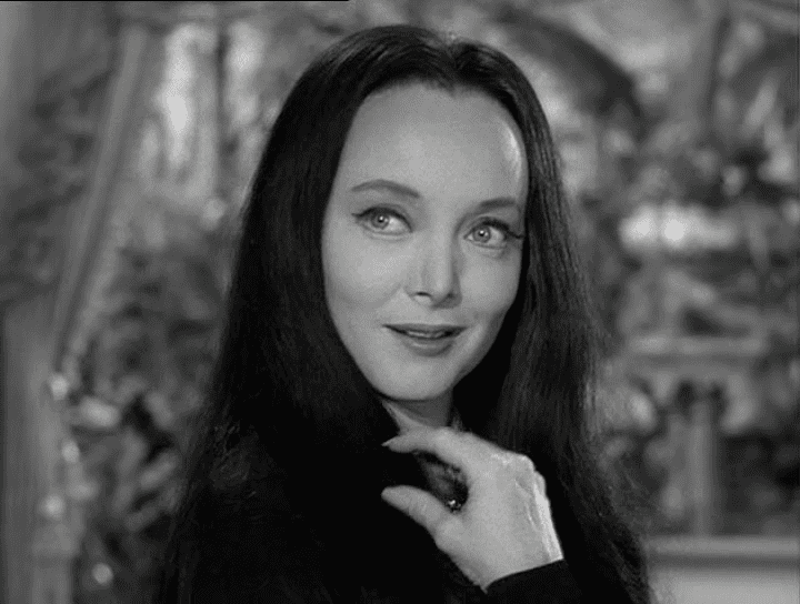 Carolyn Jones DrawingSilence Archive Carolyn Jones as Morticia Addams