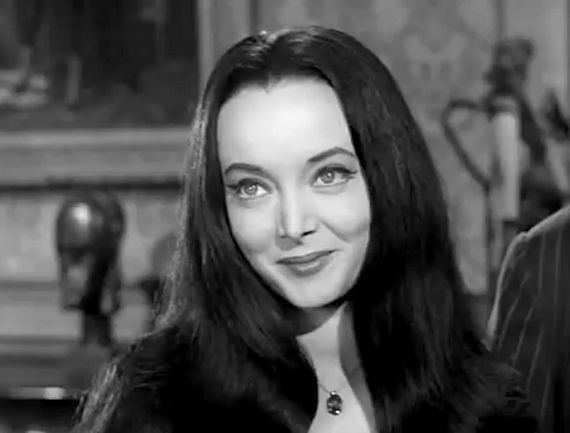 Carolyn Jones Carolyn Jones on Pinterest Morticia Addams The Addams