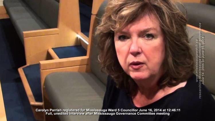 Carolyn Parrish Carolyn Parrish registers for Ward 5 Talks about Liberal