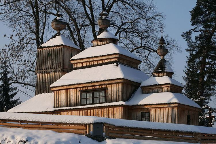 Carpathian wooden churches