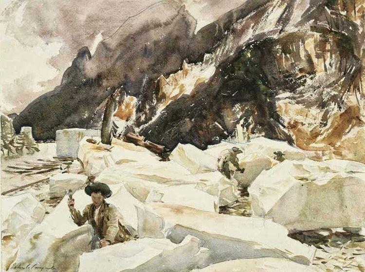 Carrara (singer) A Path To Lunch Carrara and John Singer Sargent