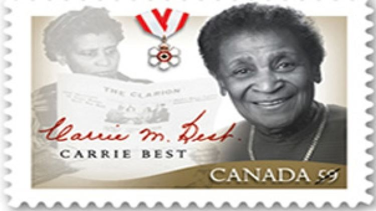 Carrie Best NS activist honoured with stamp Nova Scotia CBC News