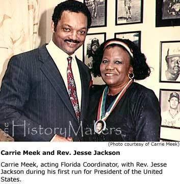 Carrie P. Meek The Honorable Carrie P Meek The HistoryMakers