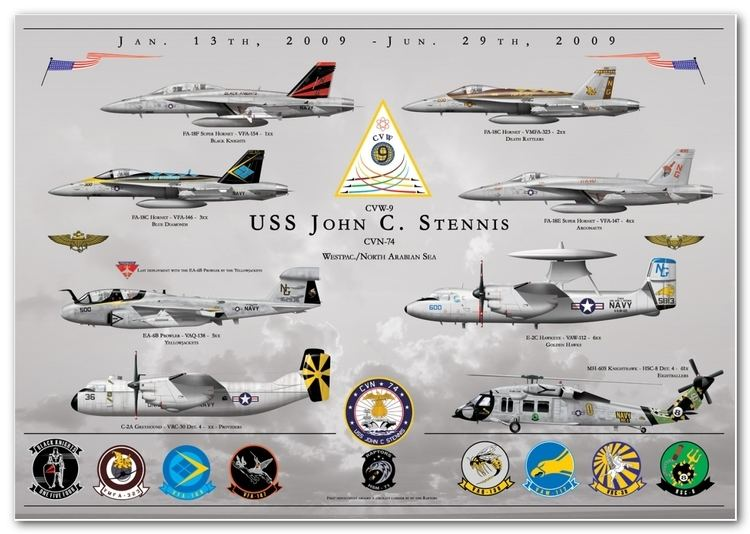 Carrier air wing US Navy and Marine Corps Carrier Air Wing Deployment Prints