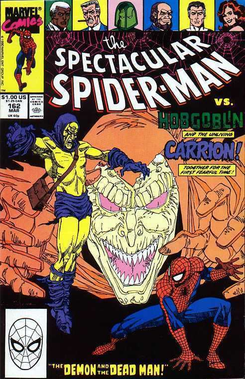 Carrion (comics) SpiderFanorg Comics Spectacular SpiderMan Vol 1 162