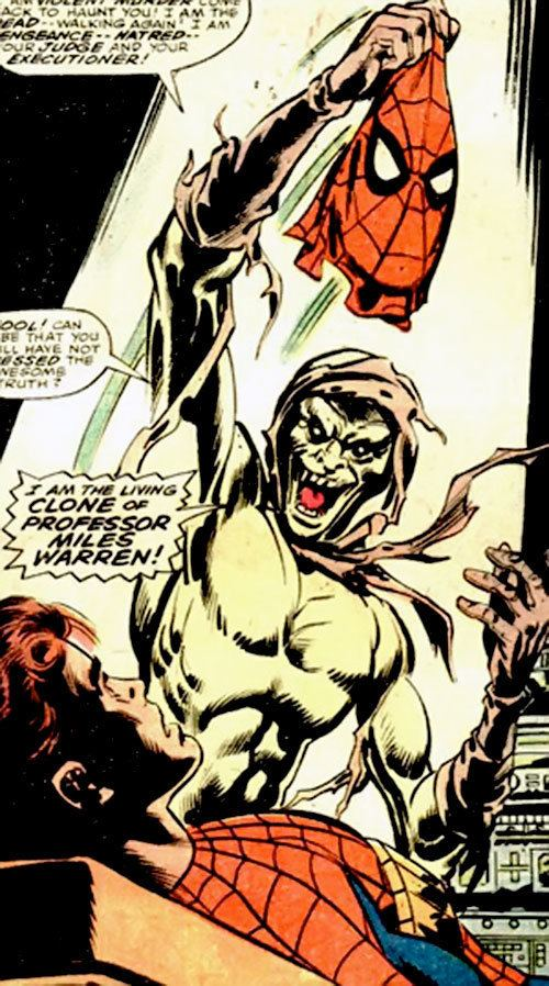 Carrion (comics) Carrion I Marvel Comics SpiderMan enemy Character profiles