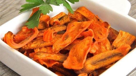 Carrot chips Carrot Chips Recipe Allrecipescom