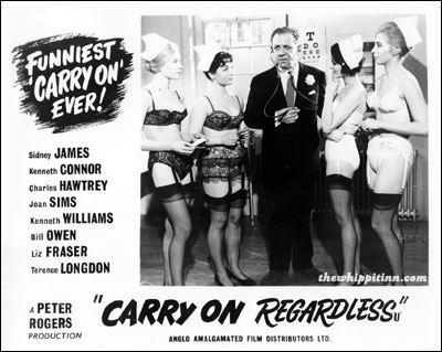 Carry On Regardless the whippit inn carry on regardless 1961