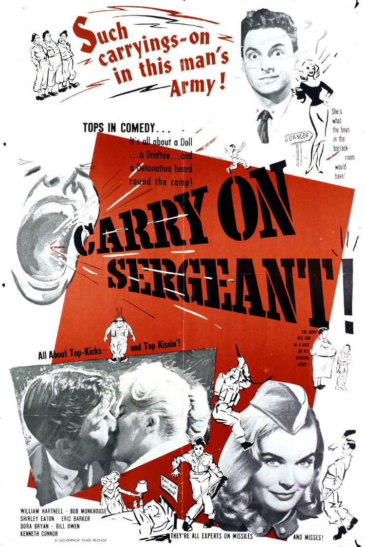 Carry On Sergeant wwwgstaticcomtvthumbmovieposters43447p43447