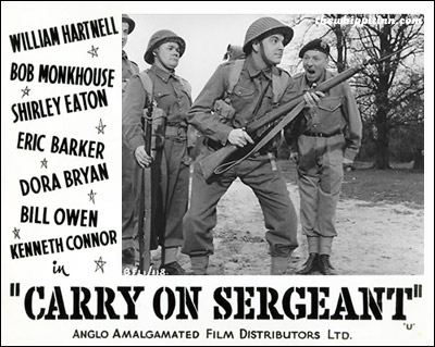 Carry On Sergeant the whippit inn carry on sergeant 1958