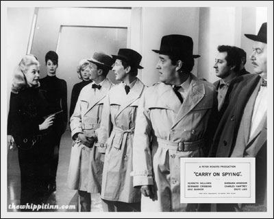 Carry On Spying the whippit inn carry on spying 1964