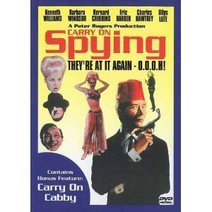 Carry On Spying Amazoncom Carry On CabbyCarry On Spying Kenneth Williams