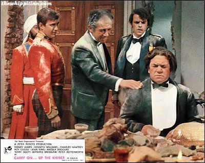Carry On Up the Khyber the whippit inn carry on up the khyber 1968