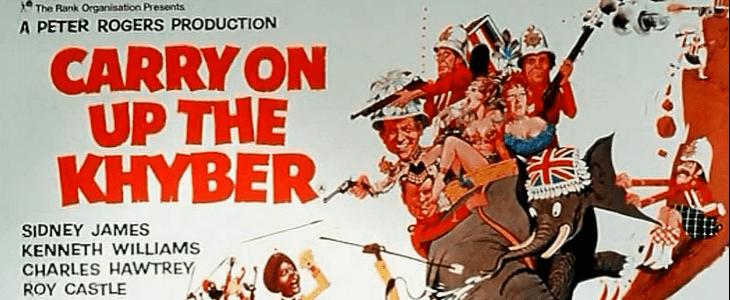 Carry On Up the Khyber Carry On Up The Khyber 1968 British Board of Film Classification